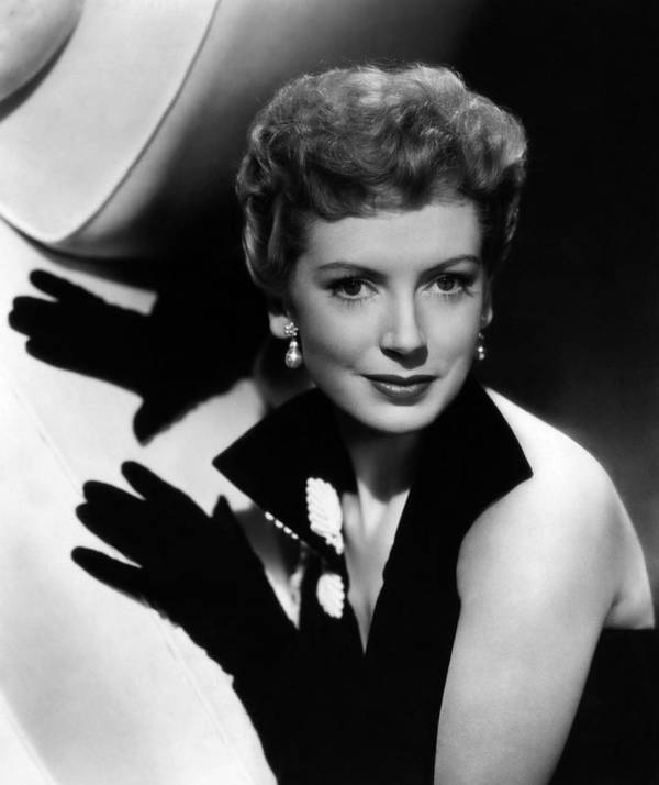 1950s Portraits Poster featuring the photograph Thunder In The East, Deborah Kerr, 1952 by Everett
