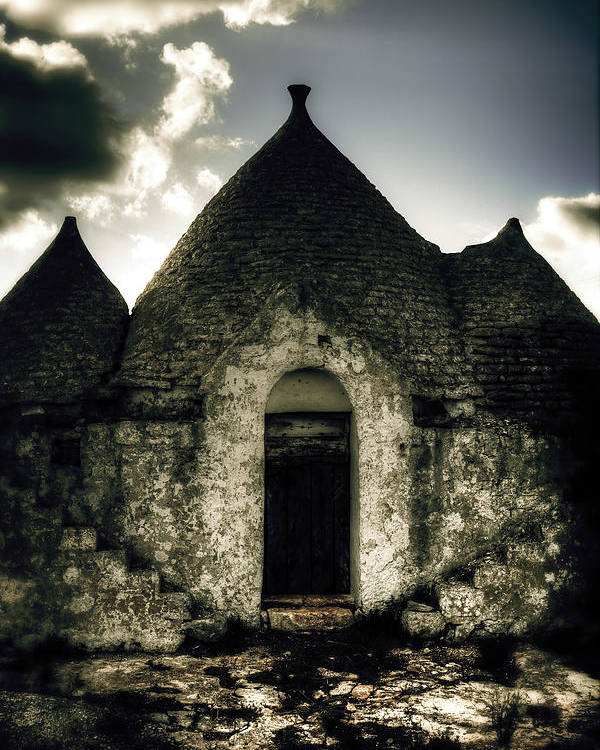 Roof Poster featuring the photograph Trulli by Joana Kruse