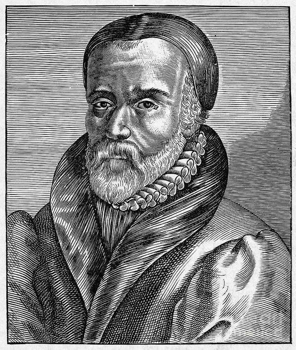 16th Century Poster featuring the photograph William Tyndale by Granger