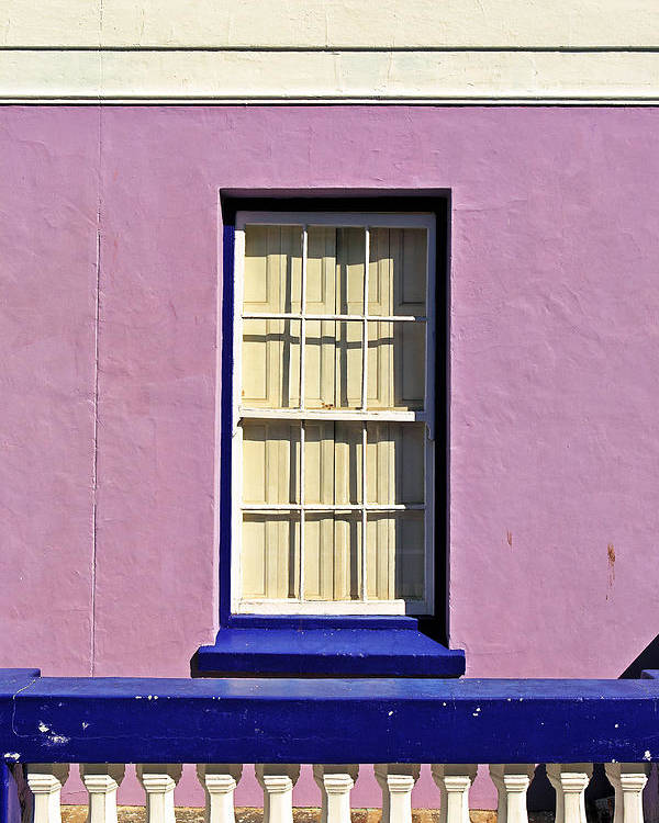 Africa Poster featuring the photograph Windows Of Bo-kaap by Benjamin Matthijs