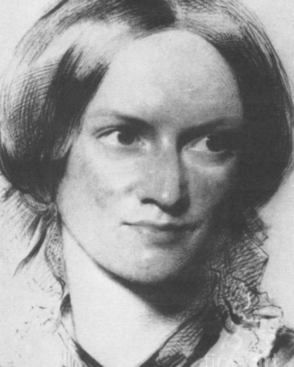 Charlotte Bronte Poster featuring the photograph Charlotte Bronte, English Author by Science Source