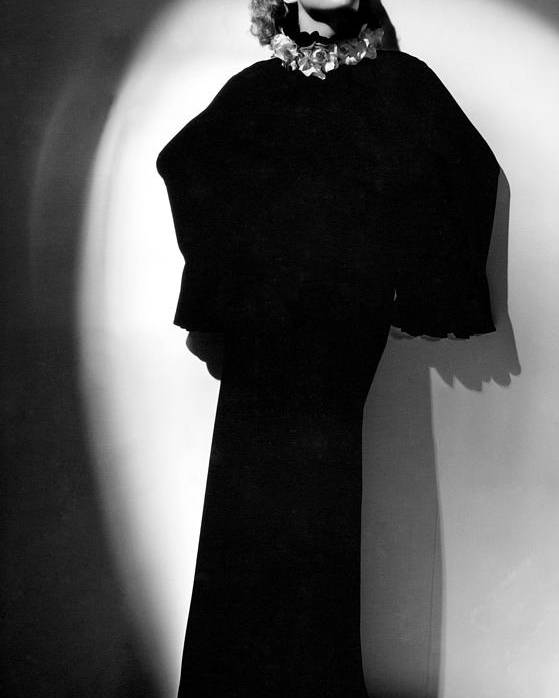 1930s Fashion Poster featuring the photograph Joan Crawford, 1930s by Everett