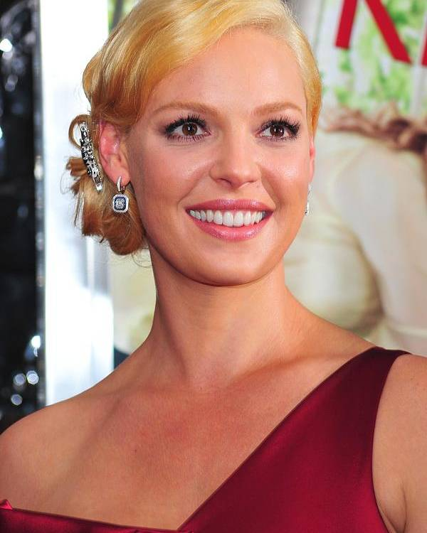 Katherine Heigl Poster featuring the photograph Katherine Heigl At Arrivals For Life As by Everett