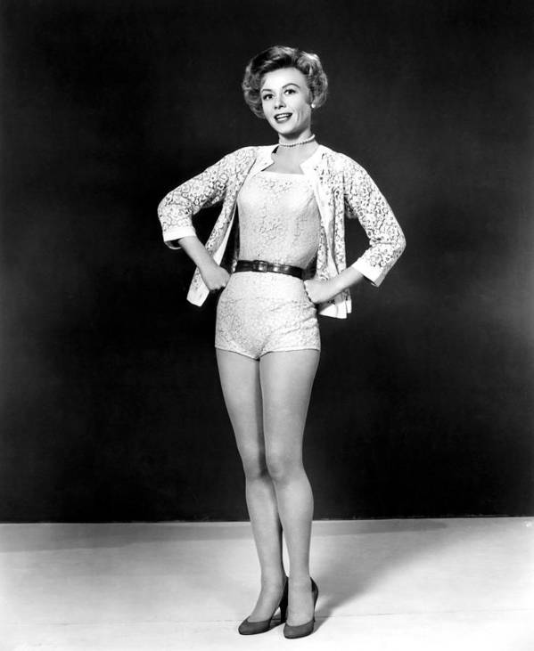 1950s Portraits Poster featuring the photograph Lets Be Happy, Vera-ellen, 1957 by Everett