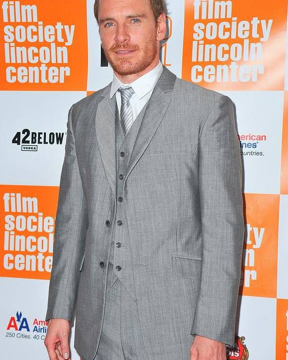 Michael Fassbender Poster featuring the photograph Michael Fassbender At Arrivals by Everett