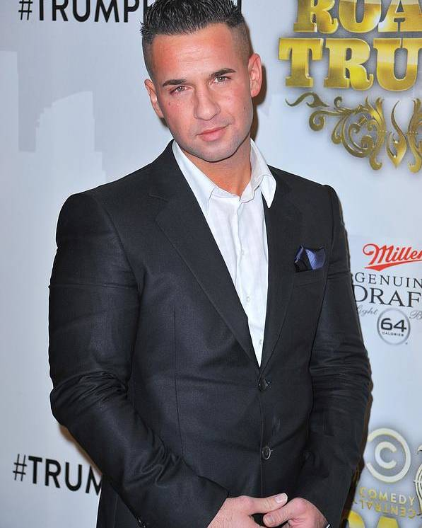 Michael ''the Situation'' Sorrentino Poster featuring the photograph Michael The Situation Sorrentino by Everett