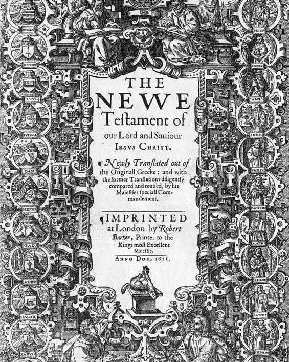 History Poster featuring the photograph New Testament, King James Bible by Photo Researchers
