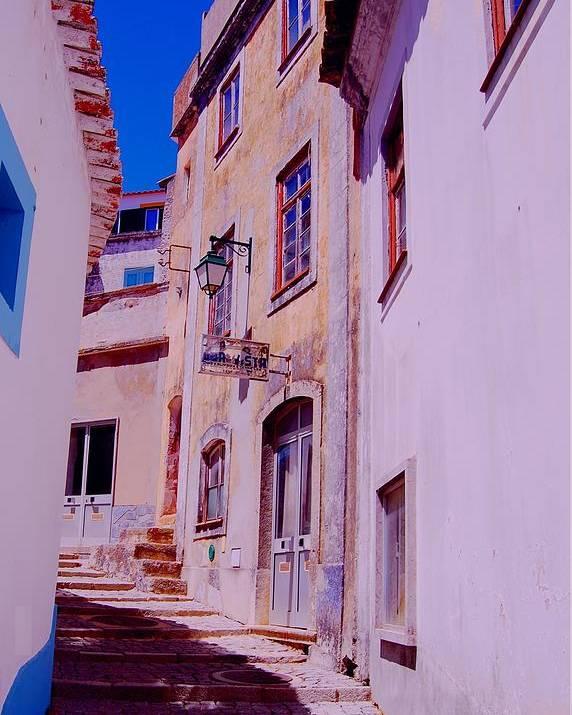 Algarve Landscapes Poster featuring the photograph Paisajes Del Algarve by Eire Cela