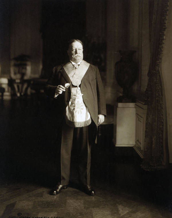 president William Howard Taft Poster featuring the photograph President William Howard Taft by International Images