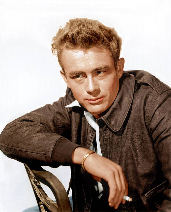 1950s Portraits Poster featuring the photograph Rebel Without A Cause, James Dean, 1955 by Everett