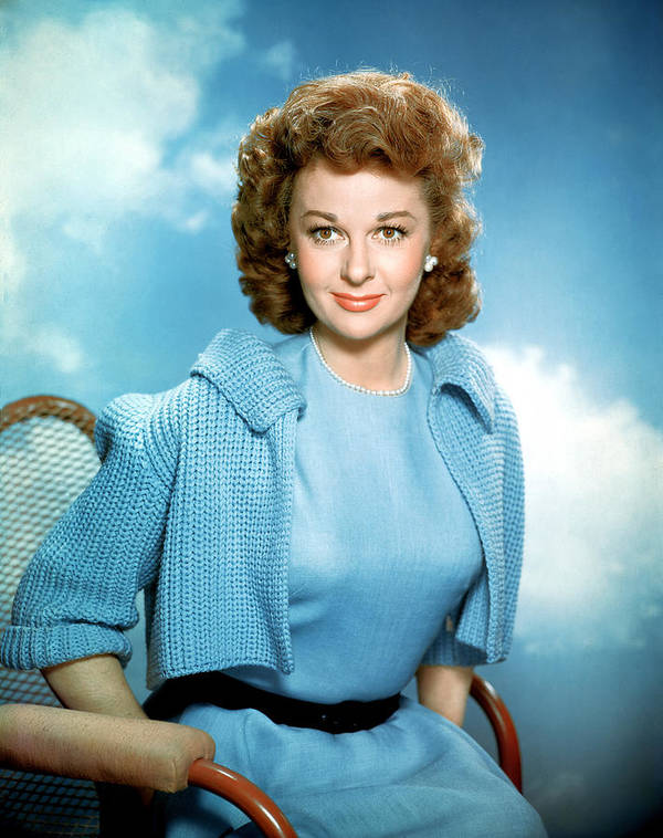 1950s Fashion Poster featuring the photograph Susan Hayward, 1950s by Everett