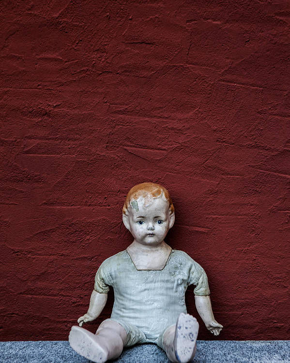 Doll Poster featuring the photograph The Doll by Joana Kruse