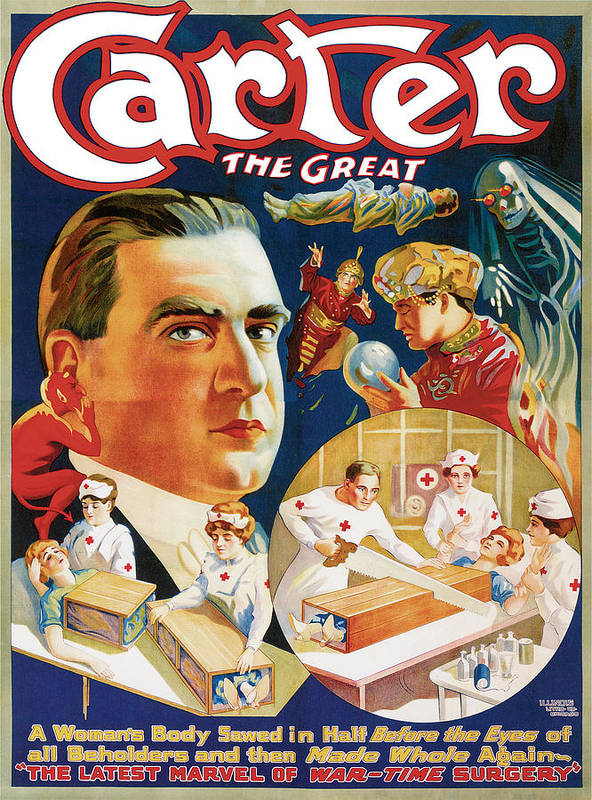 Carter The Great Poster featuring the painting Carter The Great by Unknown
