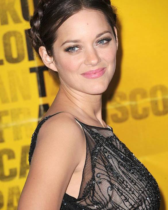 Marion Cotillard Poster featuring the photograph Marion Cotillard At Arrivals by Everett