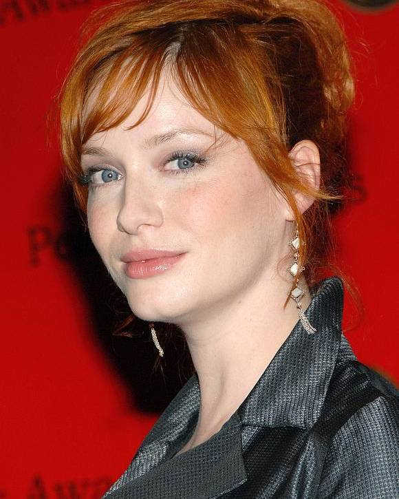 67th Annual George Foster Peabody Awards Poster featuring the photograph Christina Hendricks At Arrivals by Everett