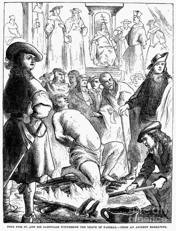 16th Century Poster featuring the photograph Persecution Of Waldenses by Granger