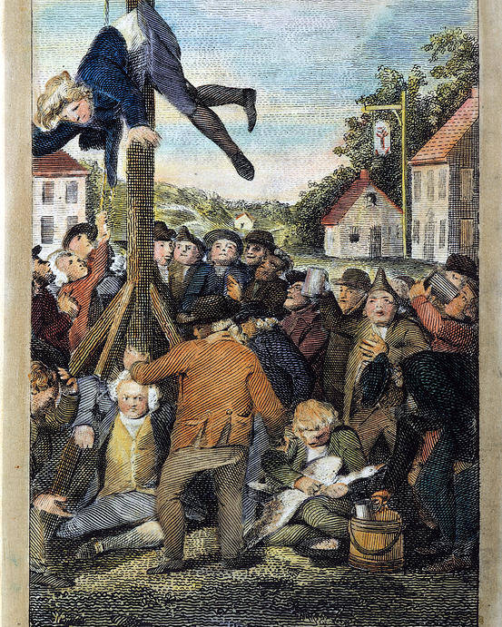 Stamp Act 1765 Poster By Granger