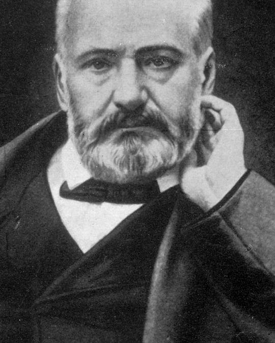 History Poster featuring the photograph Victor Hugo, French Author by Photo Researchers