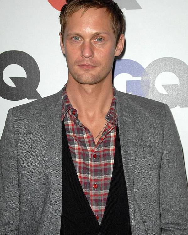 Alexander Sarsguard Poster featuring the photograph Alexander Skarsgard At Arrivals by Everett