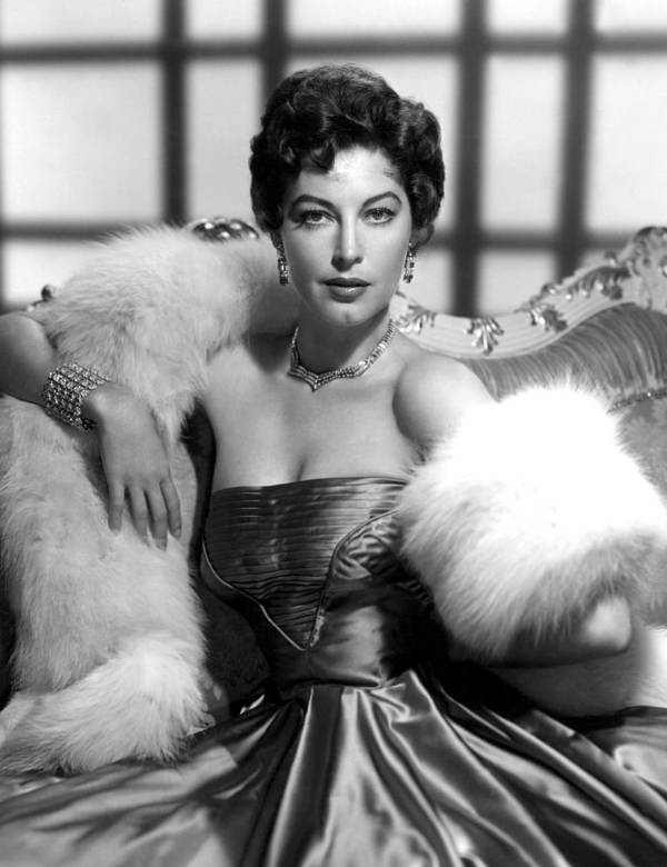 1940s Portraits Poster featuring the photograph Ava Gardner by Everett