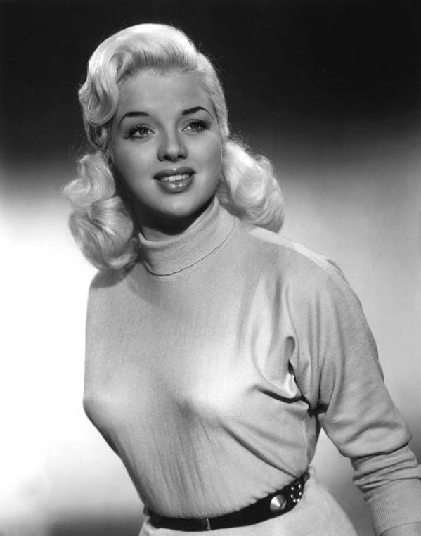 1950s Portraits Poster featuring the photograph A Kid For Two Farthings, Diana Dors by Everett