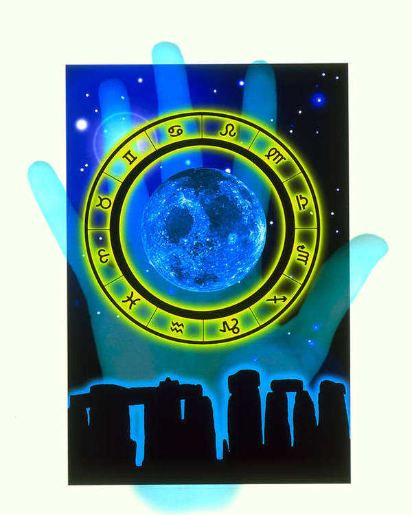 Fortune Telling Poster featuring the photograph Abstract Artwork Of Fortune Telling by Victor Habbick Visions
