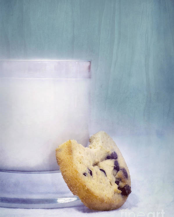Mild Poster featuring the photograph After School Snack by Priska Wettstein
