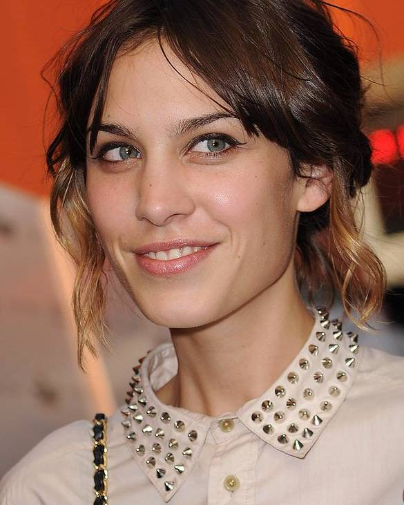 Alexa Chung Poster featuring the photograph Alexa Chung At Arrivals For Inglourious by Everett