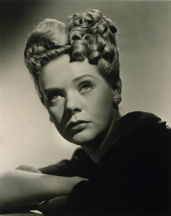 History Poster featuring the photograph Alice Faye 1915-1998 American Singer by Everett