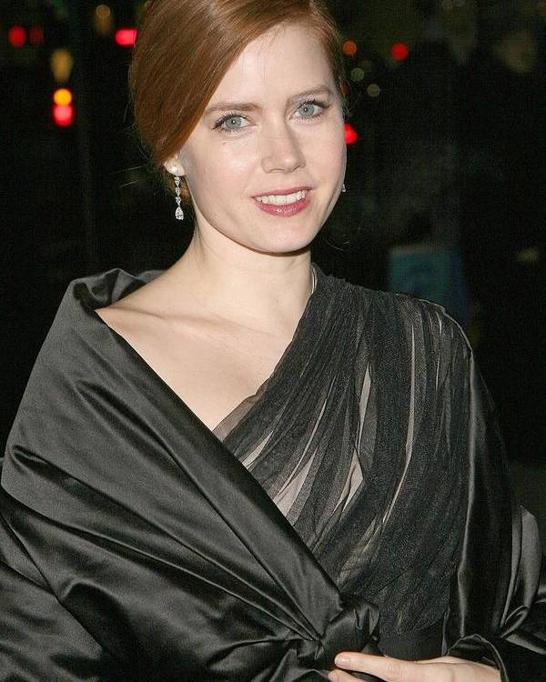 The 2008 National Board Of Review Of Motion Pictures Awards Poster featuring the photograph Amy Adams At Arrivals For The 2008 by Everett