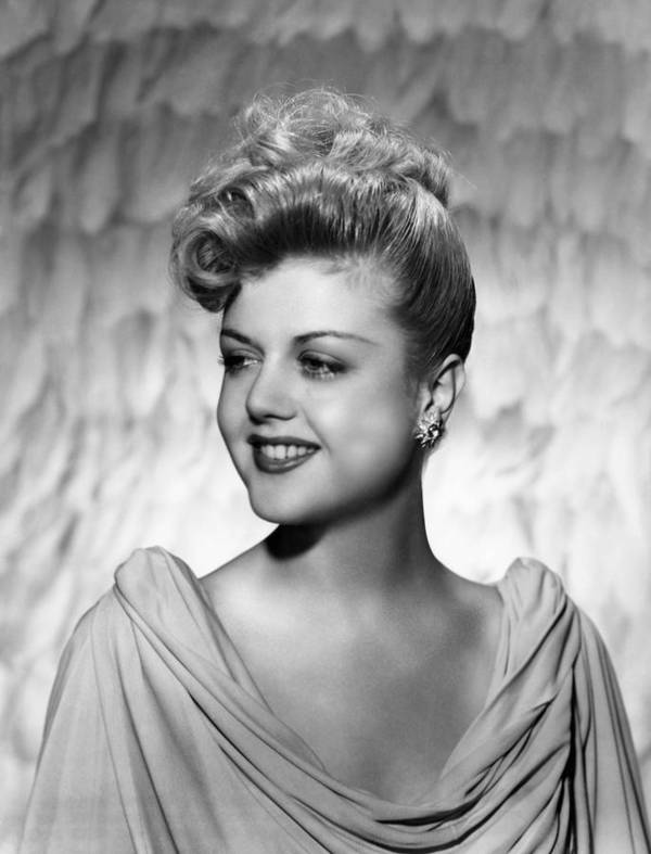 1940s Portraits Poster featuring the photograph Angela Lansbury, 1945 by Everett