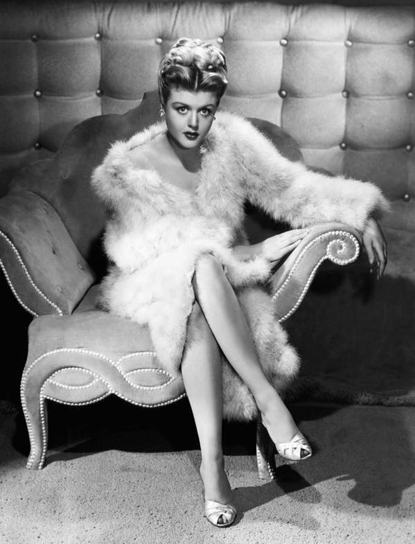 1940s Portraits Poster featuring the photograph Angela Lansbury, 1946 by Everett