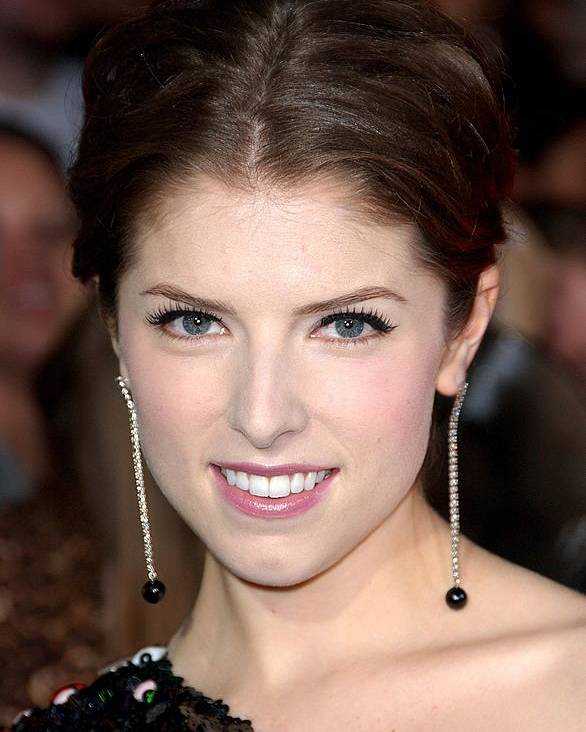 Anna Kendrick Poster featuring the photograph Anna Kendrick Wearing Neil Lane by Everett