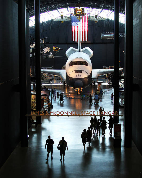 Space Shuttle Poster featuring the photograph Annex by Brian M Lumley