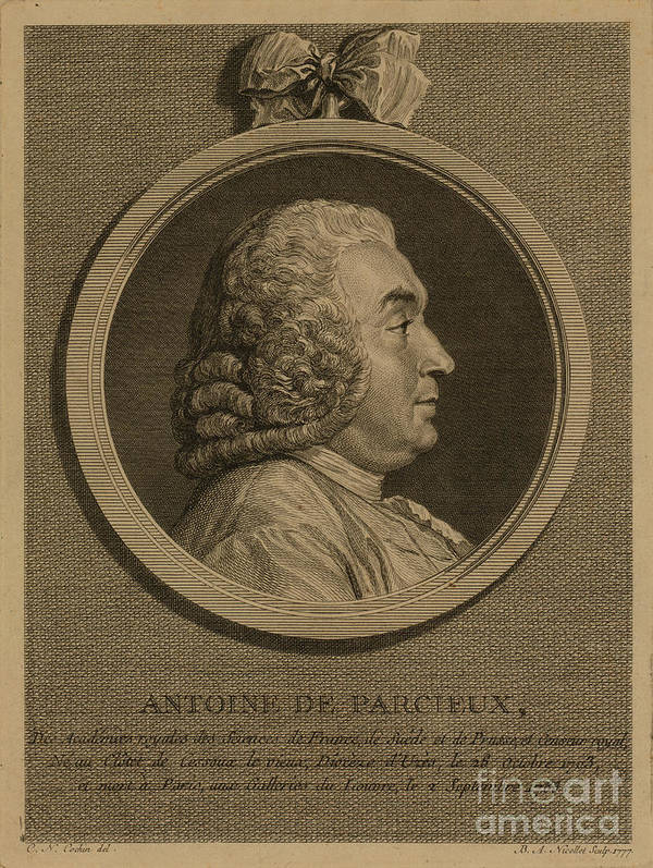 1777 Poster featuring the photograph Antoine Deparcieux by Granger