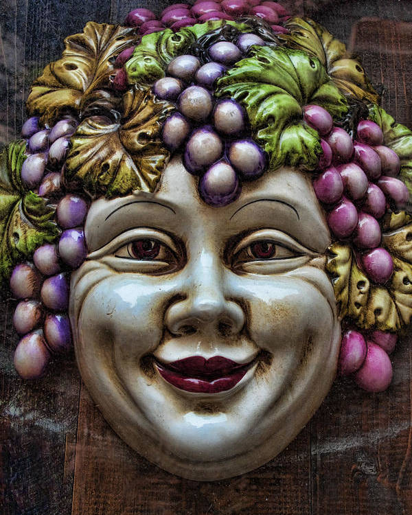 Bacchus Poster featuring the photograph Bacchus God Of Wine by David Smith