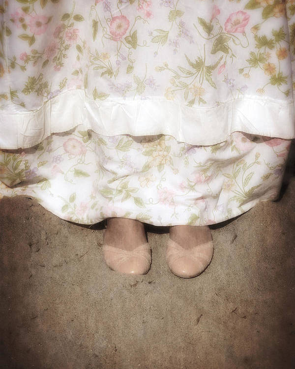 Foot Poster featuring the photograph Ballerinas by Joana Kruse