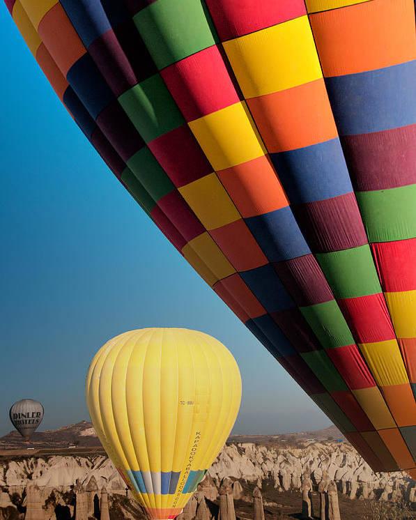 Ballons Poster featuring the photograph Ballons - 3 by Okan YILMAZ