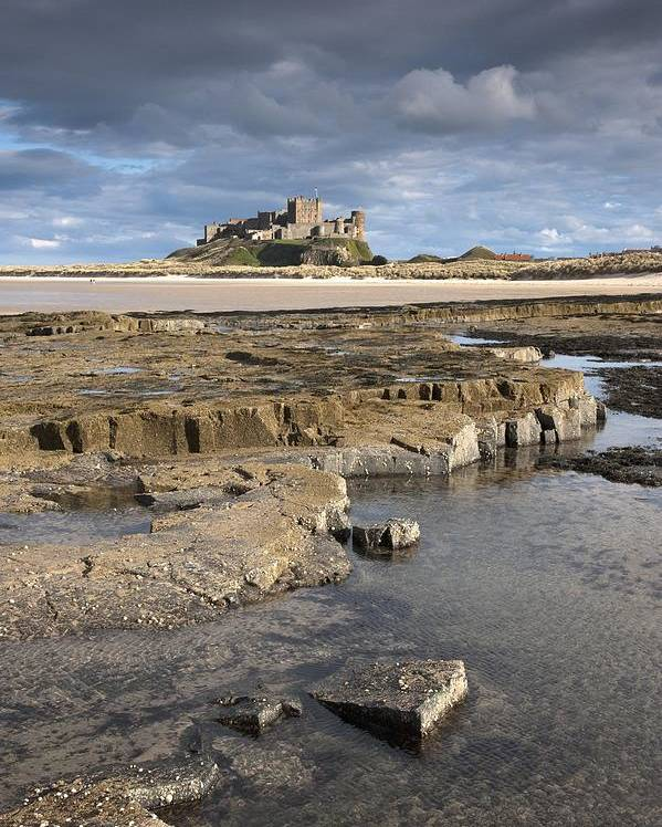 Northumberland Poster featuring the photograph Bamburgh, Northumberland, England by John Short