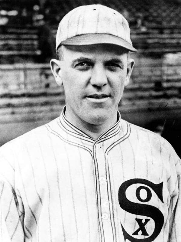 1910s Portrait Poster featuring the photograph Baseball, Eddie Cicotte, Pitcher & by Everett