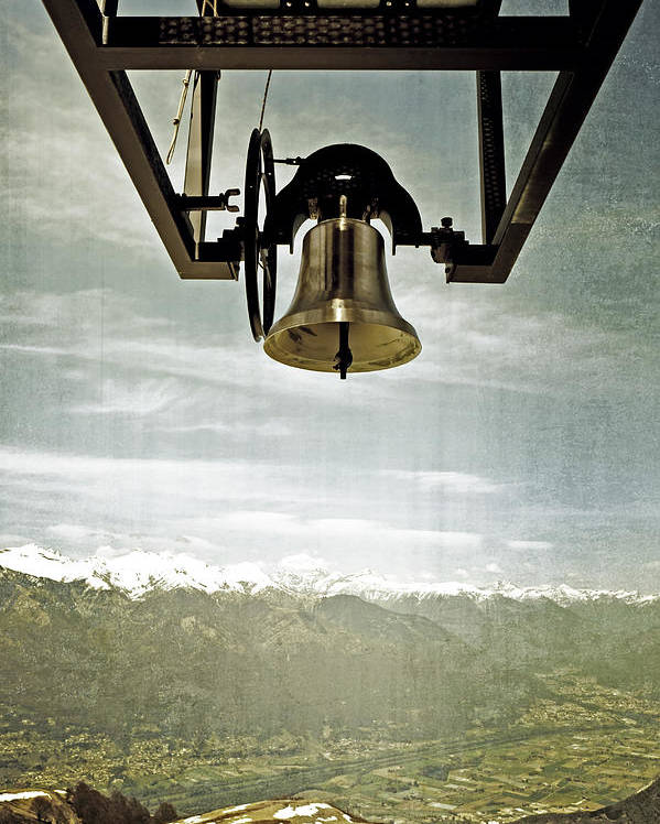 Bell Poster featuring the photograph Bell In Heaven by Joana Kruse