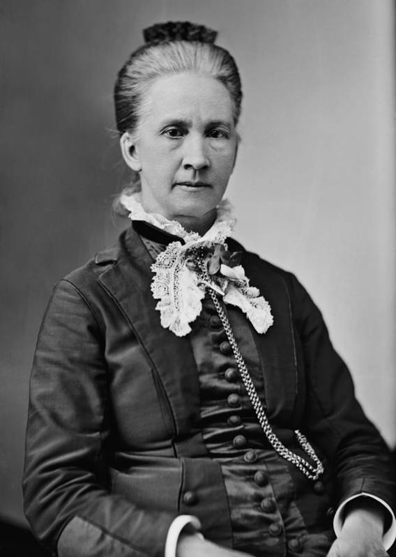 History Poster featuring the photograph Belva Lockwood 1830-1917, Was A Lawyer by Everett