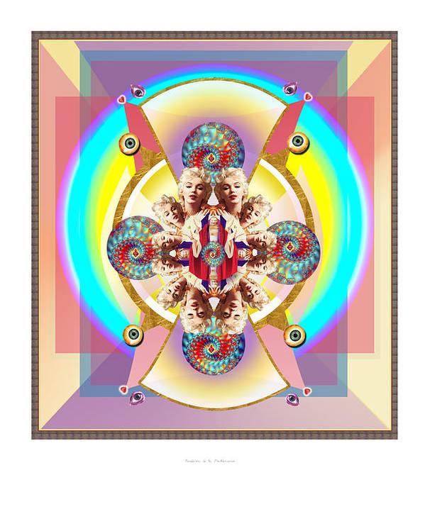 Spiritual Poster featuring the digital art Bendicion De La Pachamama by Dyana Ariza