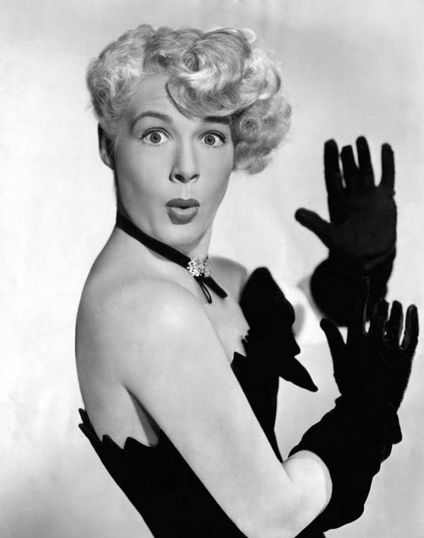 1940s Portraits Poster featuring the photograph Betty Hutton, Ca. 1949 by Everett