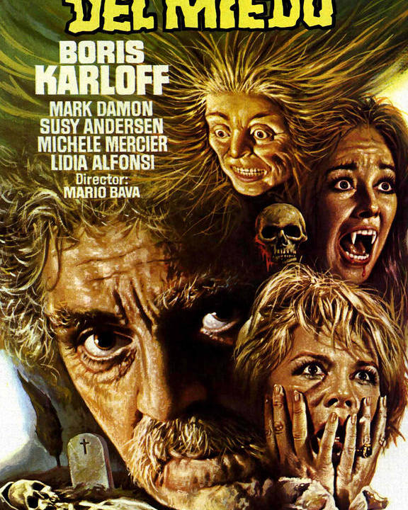 1960s Movies Poster featuring the photograph Black Sabbath, Aka Las Tres Caras Del by Everett