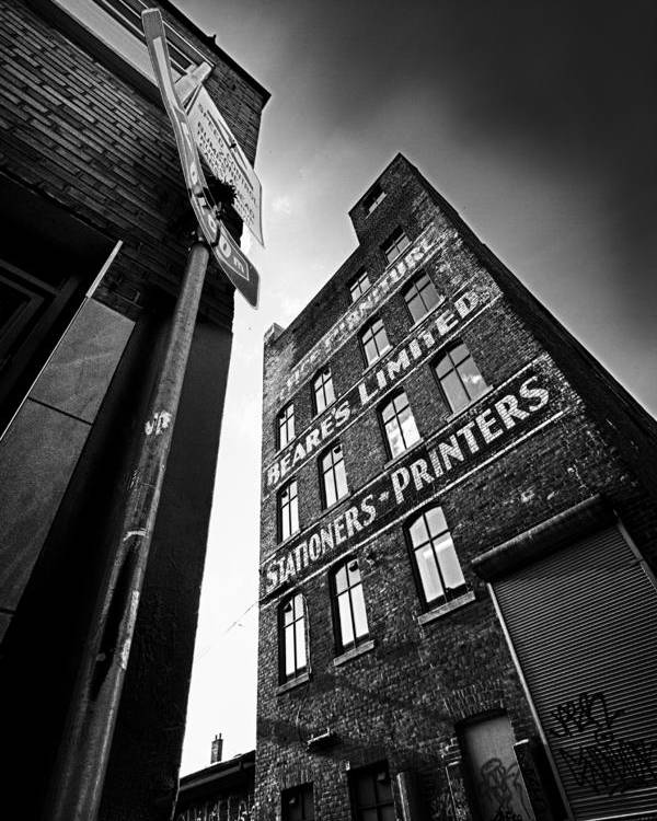 Architecture Poster featuring the photograph .block Print... by Russell Styles
