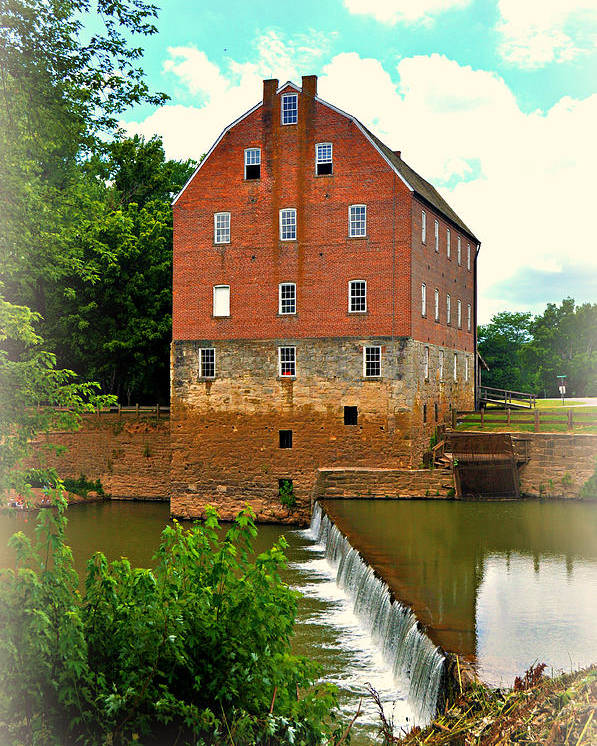 Mill Poster featuring the photograph Bollinger Mill by Marty Koch