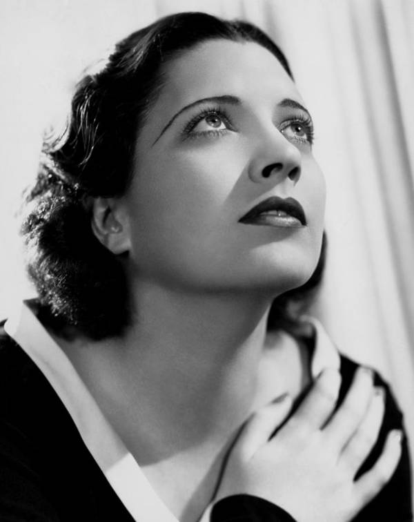 1930s Movies Poster featuring the photograph British Agent, Kay Francis, 1934 by Everett
