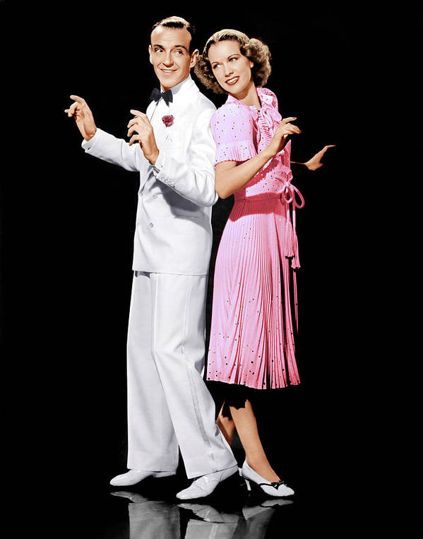 1940 Movies Poster featuring the photograph Broadway Melody Of 1940, From Left Fred by Everett