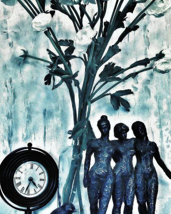 Photo Poster featuring the photograph Bronze Still Life by Marsha Heiken